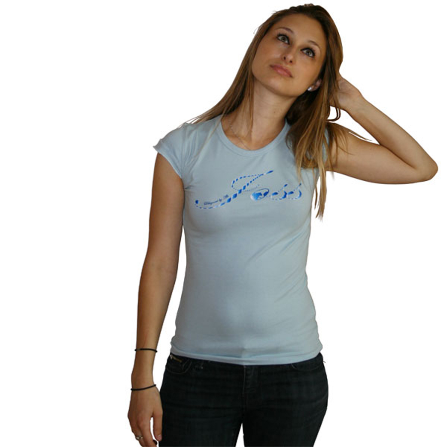 Tee shirt avec motif torsadé