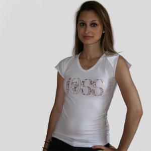 Tee shirt blanc-JOSS