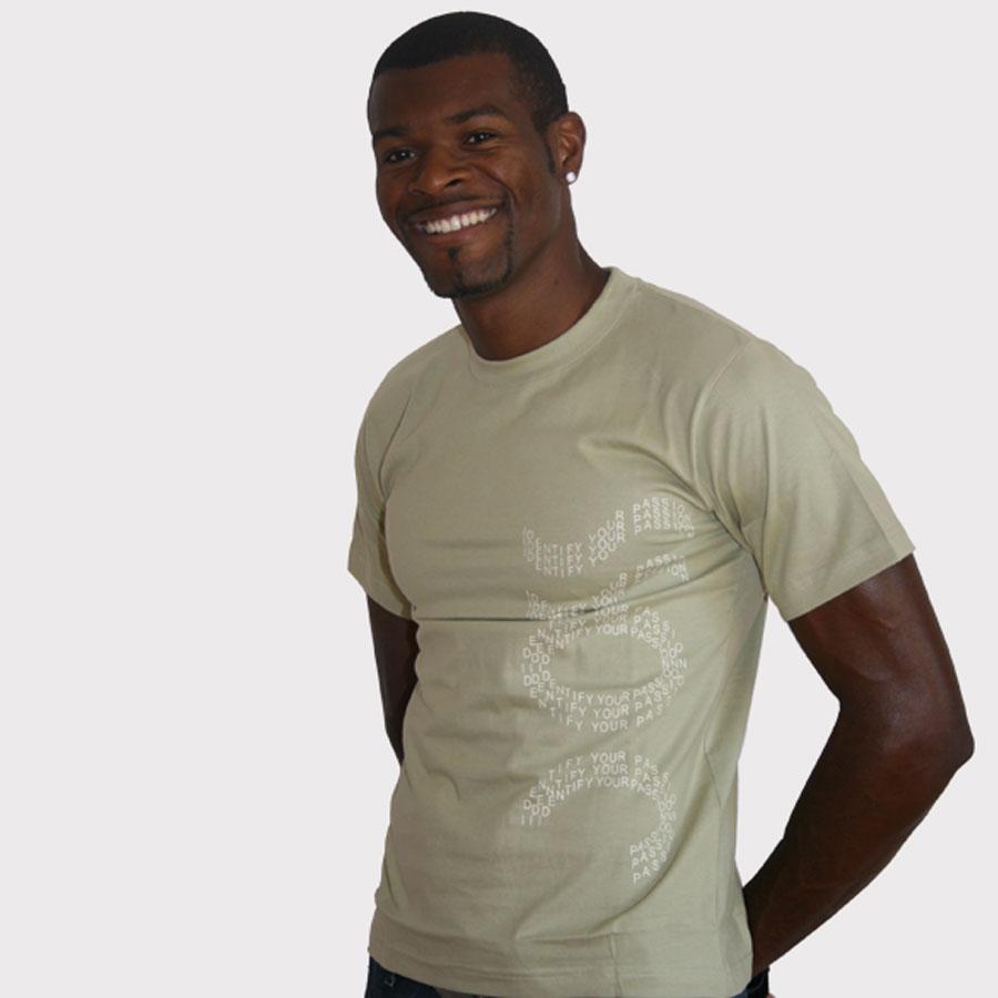 Tee shirt vert Kaki