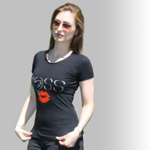 Tee shirt noir-JOSS
