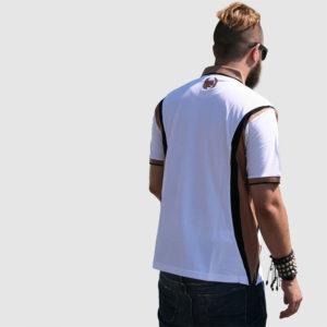 Dreifarbiges Poloshirt-JOSS