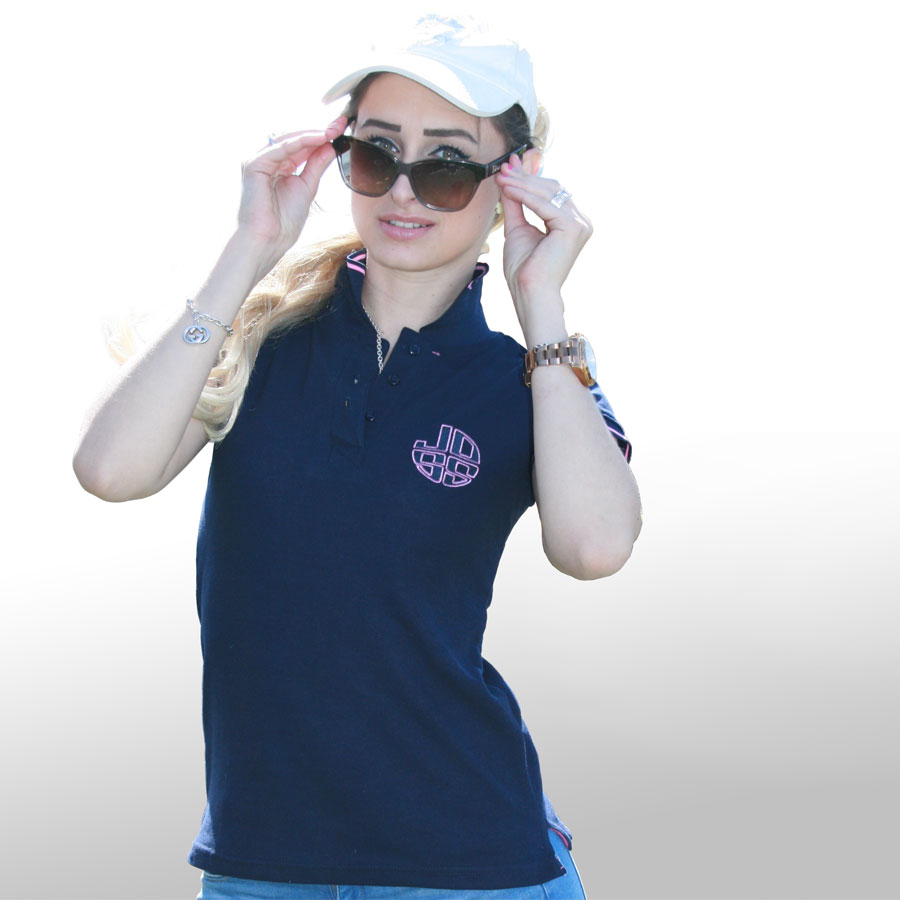 Marineblaues Polo Shirt 1-JOSS