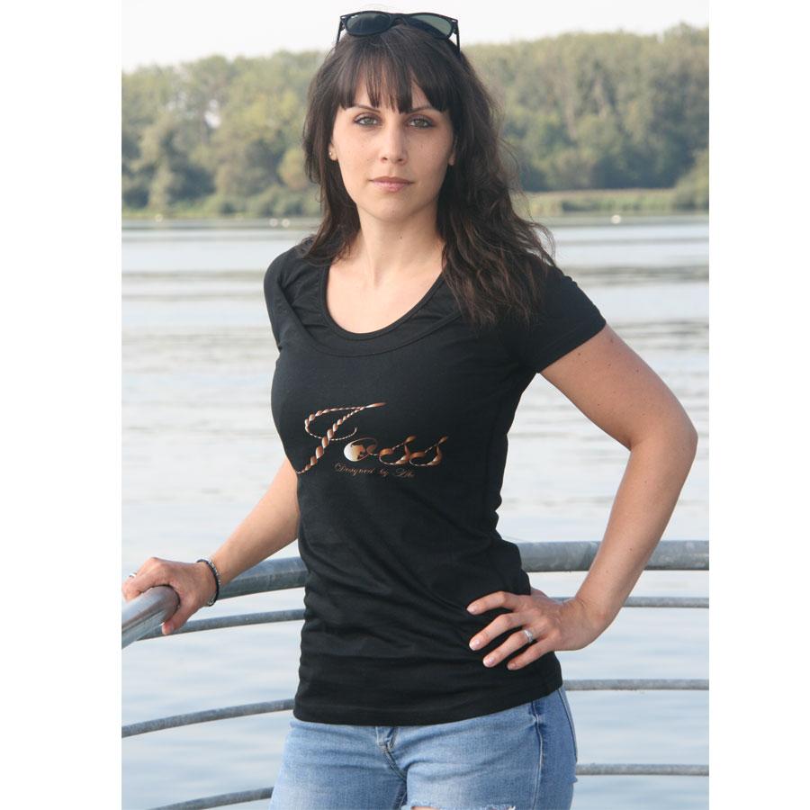 T-Shirt mit Doppel cool