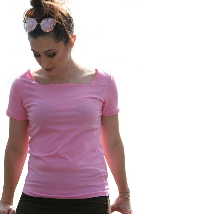 T-shirt u boot ausschnitt-JOSS